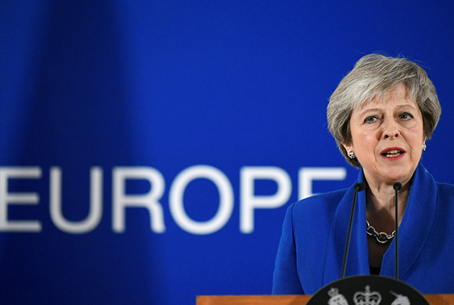 photo of prime minister theresa may