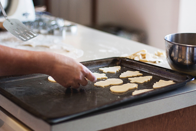 When making cookies this holiday season, you need to resist the temptation to eat the batter on the mixing bowl or spoon.