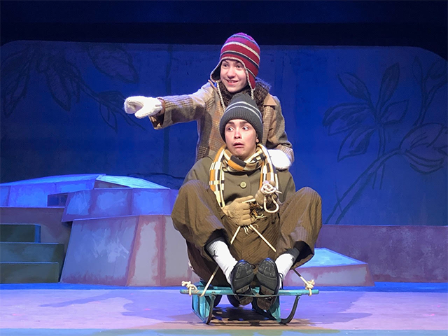 """A Year With Frog & Toad"" at the Howard Conn Performing Arts Center in Plymouth Congregational Church."