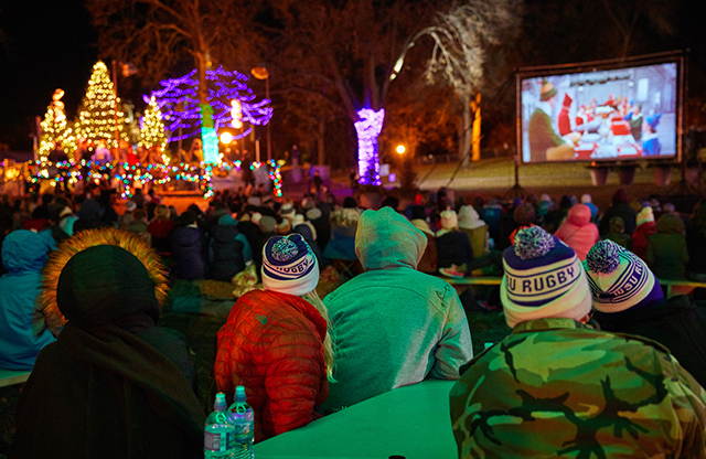 Free live music, outdoor skating, warming house, meetings with Santa, story time, activities and more at Holidazzle.