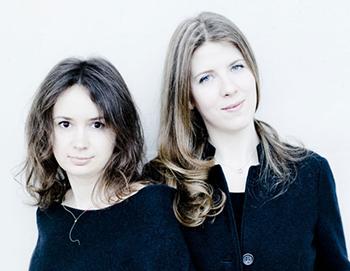 Patricia Kopatchinskaja and Polina Leschenko