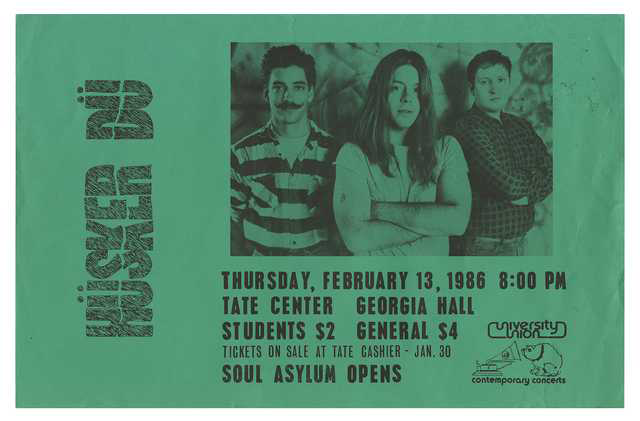 image of ticket to husker du show
