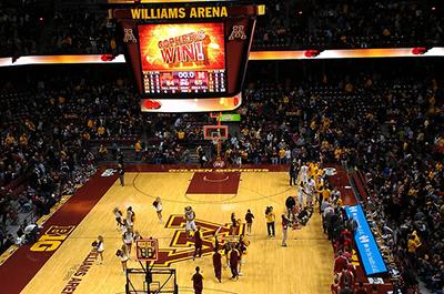 photo of interior of williams arena
