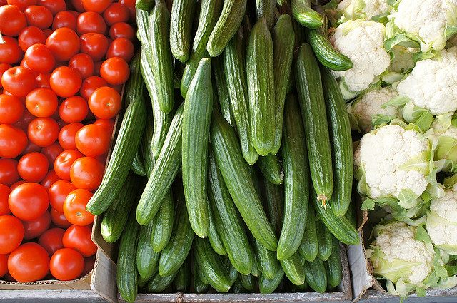 photo of vegetables