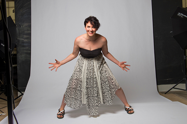 Outpost co-founder and soprano Carrie Hennemann Shaw will perform Friday at the Hook & Ladder.