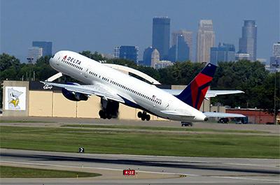 Delta take off