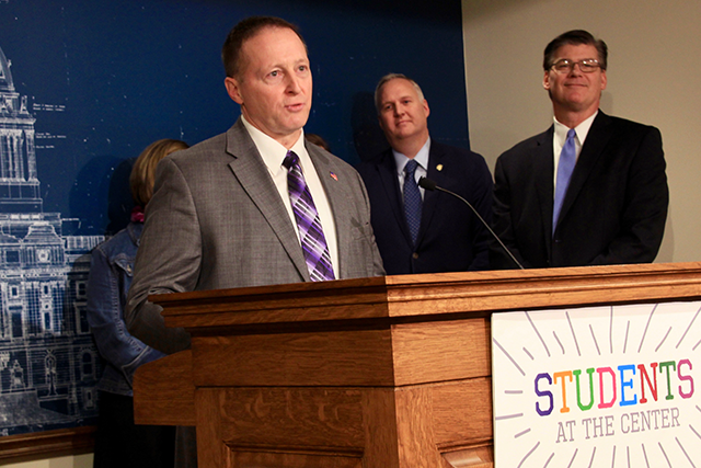 New Ulm Public Schools Superintendent Jeff Bertrang