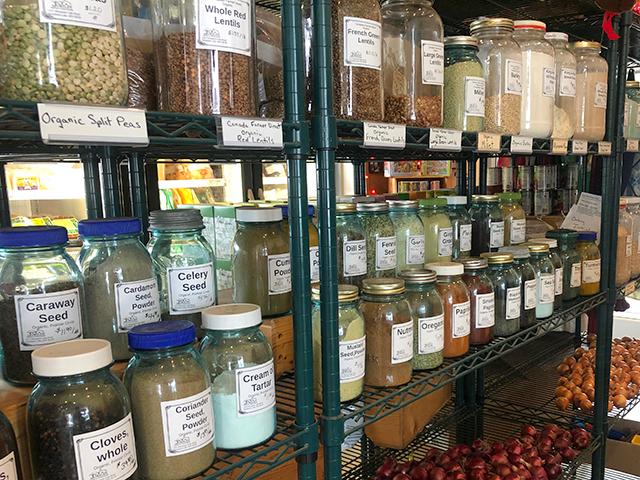Jubilee Market shelves