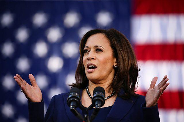 "Sen. Kamala Harris, D-California, says that she absolutely favors a ""Medicare for All"" program."