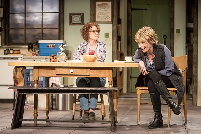 """Linda Kelsey and Laila Robins in the Jungle's production of """"The Children."""""""