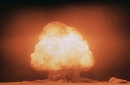 The Trinity test of the Manhattan Project