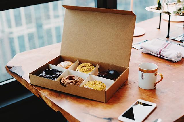 Office doughnuts