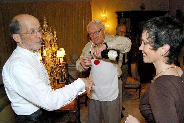 Philip Brunelle, Dominick Argento, Maria Jette