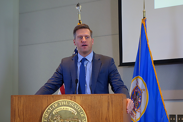"House Minority Leader Kurt Daudt of Crown said his ""jaw hit the floor"" when he heard the numbers."