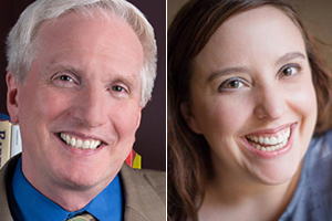 James Haskins, Mollie Alexander Hogan