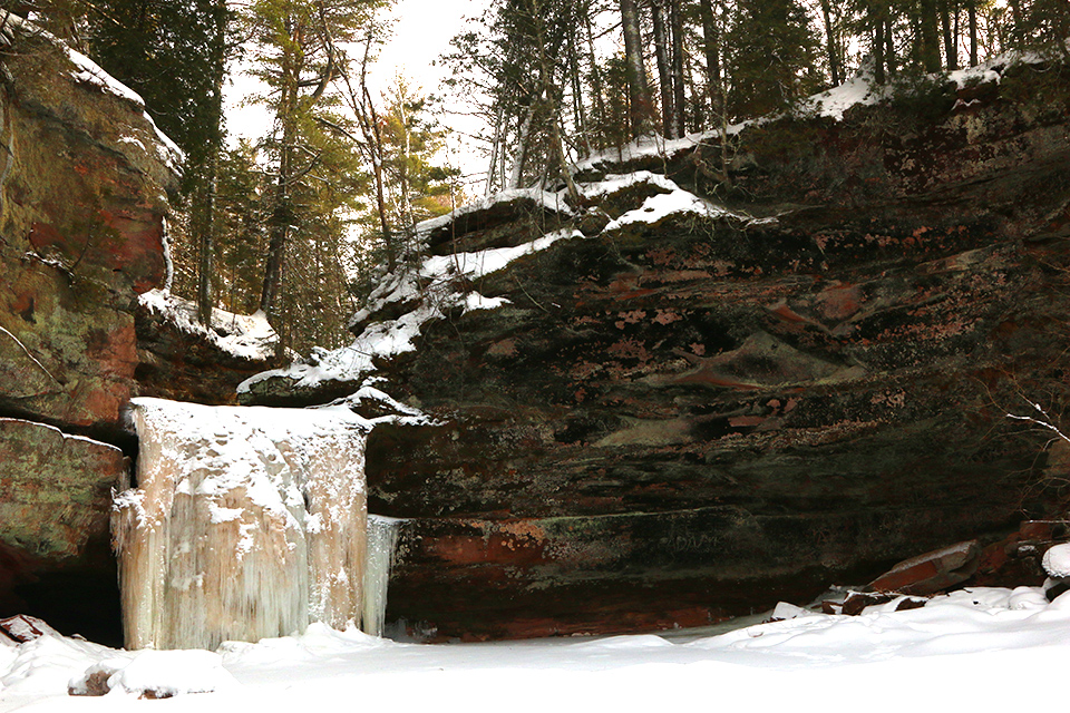 The Apostle Island ice caves may be closed, but here are
