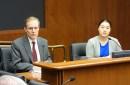 Minnesota Secretary of State Steve Simon and state Rep. Samantha Vang