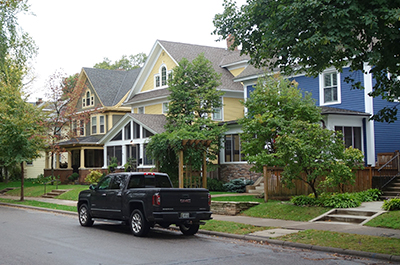 South Mpls houses
