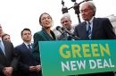 photo of representatives introducing green new deal