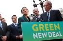 photo of representatives introducing green new deal