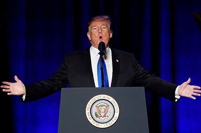 photo of donald trump speaking