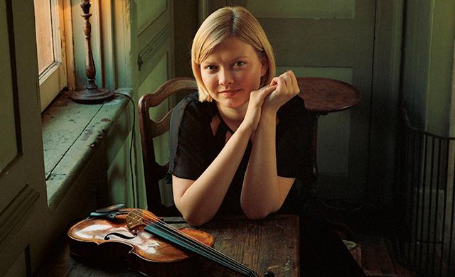 Russian violinist Alina Ibragimova