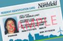 Northfield resident ID card