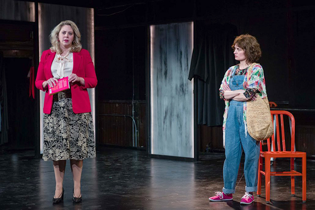 """Laura Zabel and Tracey Maloney in a scene from """"Roe."""""""