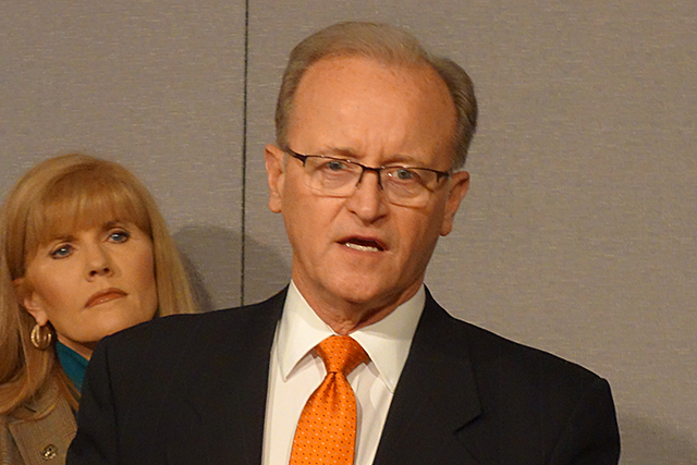 Senate Judiciary committee chair Warren Limmer