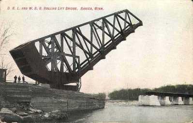 historical photo of ranier bridge