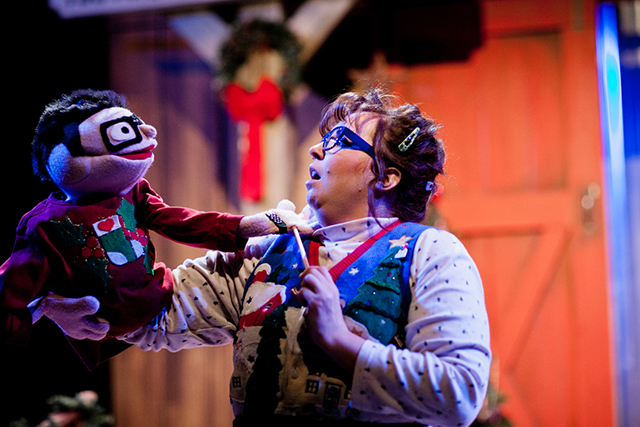 """A scene from a previous production of """"Another Miracle on Christmas Lake."""""""