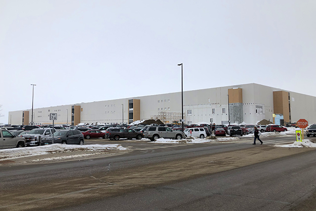 DigiKey's new 2.2 million square-foot distribution center, which is expected to open in 2021.