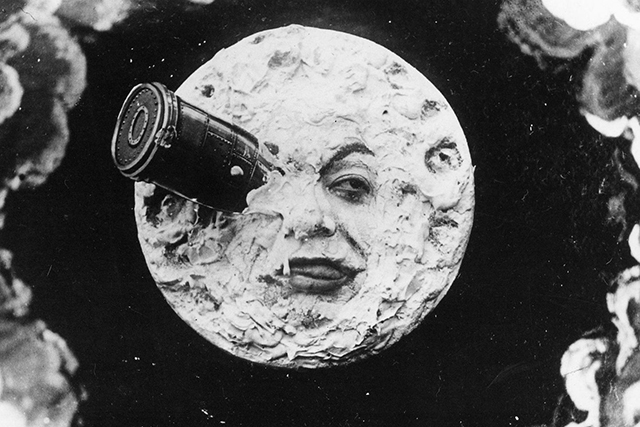 "A still from Georges Mékiuès' ""Journey to the Moon."""