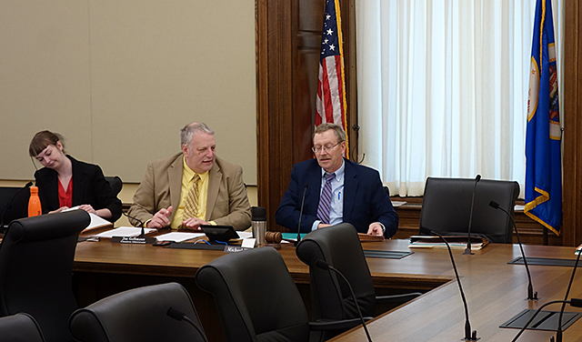 There was an empty chair at a recent HAVA conference committee meeting that state Sen. Mary Kiffmeyer boycotted.