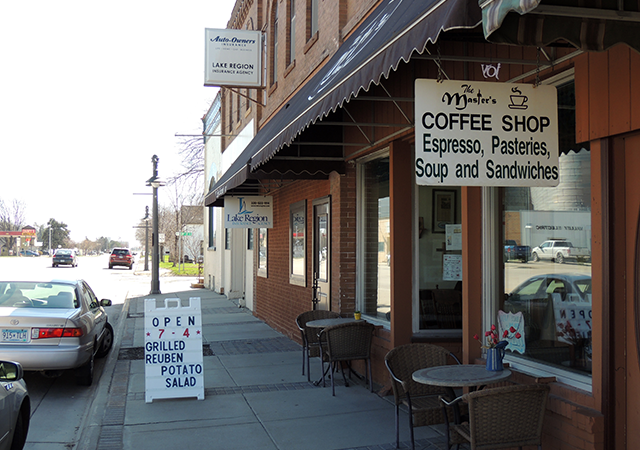 The Master's Coffee Shop in Olivia.