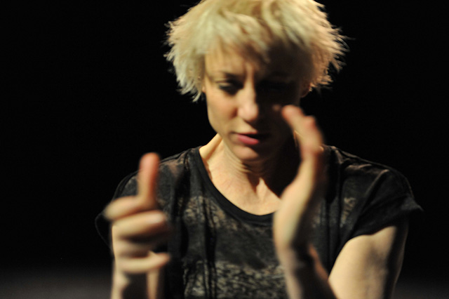 Meg Stuart will be performing at the Walker Art Center over the next two weekends.