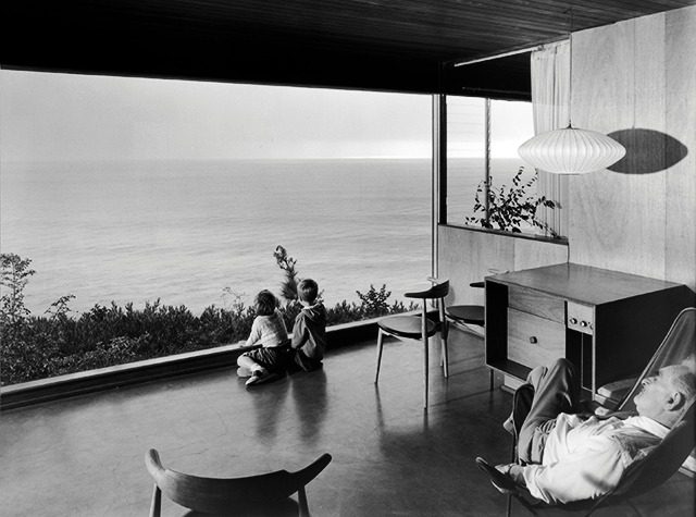 The Wise House designed by Richard Neutra.