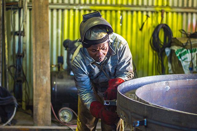 workshop worker