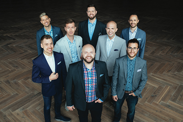 """For this year, Cantus has chosen to cover Joni Mitchell's """"Blue."""""""