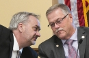State Rep. Rick Hansen and state Sen. Bill Ingebrigtsen