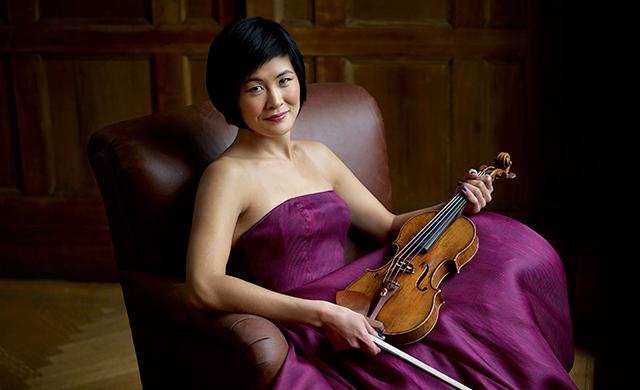 Violinist Jennifer Koh