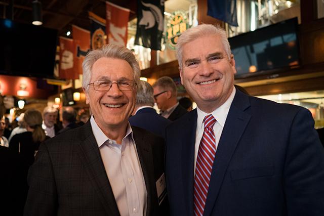 2010 gubernatorial contenders Tom Horner and Rep. Tom Emmer