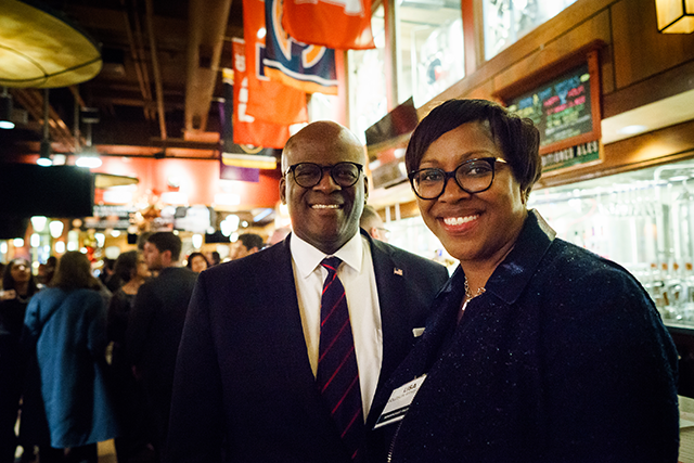 MinnRoast Patrons Kevin Armstrong and Lisa Goldson Armstrong