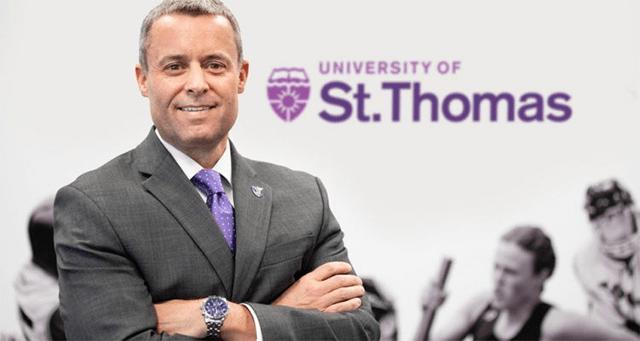 UST athletics director Phil Esten