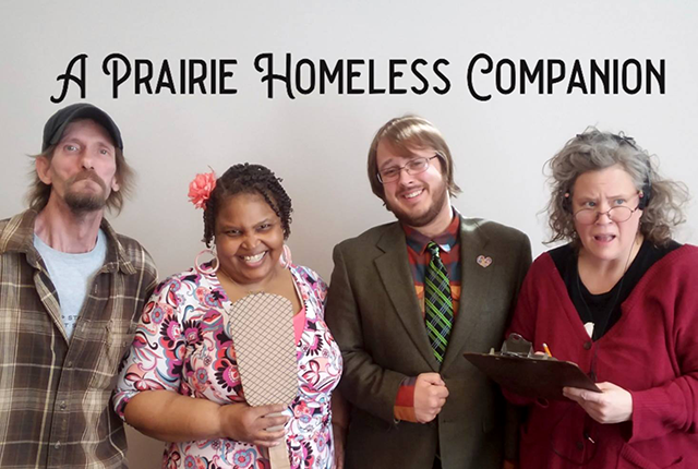 "Currently in the works with Willmar, Marshall and Worthington, all communities with housing instability: ""A Prairie Homeless Companion."""