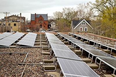 Shiloh Temple solar array