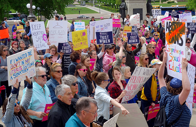 State Capitol abortion rally