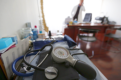 blood-pressure machine