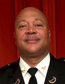Minneapolis police inspector Eddie Frizell