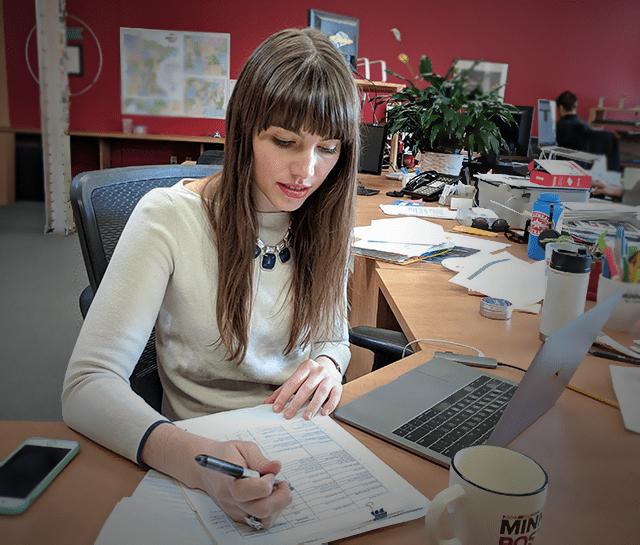 MinnPost data reporter Greta Kaul